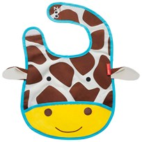 Skip Hop Zoo Tuck-Away Bib Giraffe Multi
