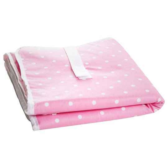 Färg & Form Foldable Changing Mat Pink Dot Pink