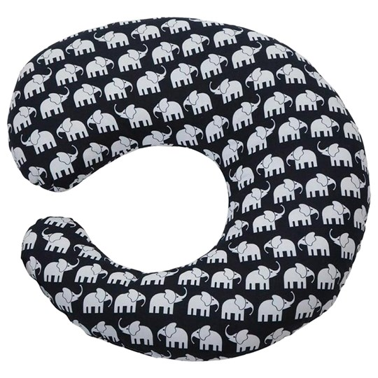 Elephant Nursing Pillow Elephant Black Black