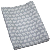 Elephant Nursing Bed Grey Black