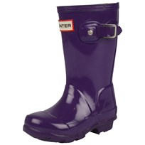 Hunter Original Kids Boot Sovereign Purple Purple
