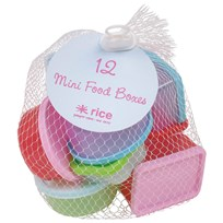 RICE A/S 12 S Plastic Food Keepers In Net Multi