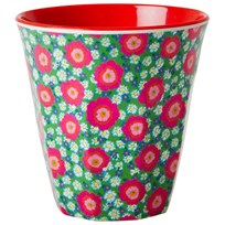 RICE A/S Melamine Cup Peony Print Multi