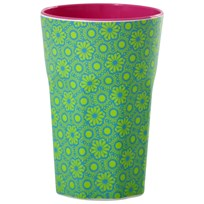 Rice Tall Melamine Latte Cup Green Marrakesh Green