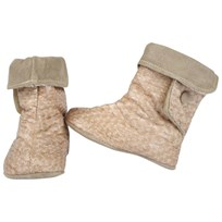 DOLLY by Le Petit Tom Baby Boots Snake Beige 3-Ways Beige