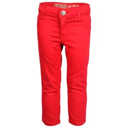Guess 5 Pkt Pant Vintage Red