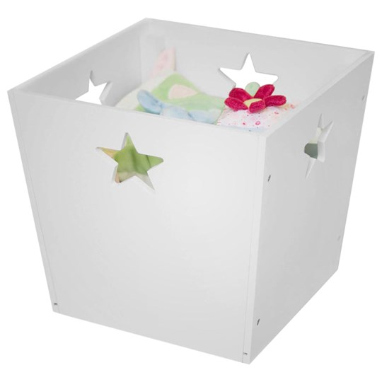 Kids Concept Storage Box Star White Multi