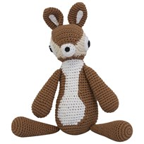 sebra Crochet Teddy Deer BROWN