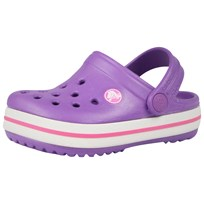 Crocs Kids' Crocband Neon Purple Purple