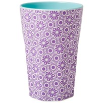 Rice Tall Melamine Latte Cup Lavender Marrakesh Purple