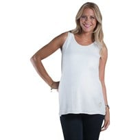 Mom2moM Tanktop Heart OffWhite White