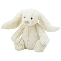 Jellycat Bashful Bunny Gosedjur Medium Cream Multi