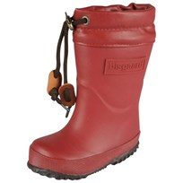Bisgaard Rubber Boots With Wool Rubino Red