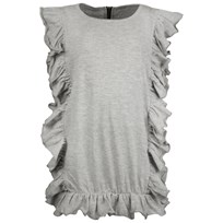 The BRAND Summer Top Grey Melange Grey