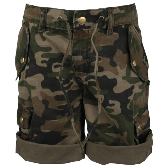 The BRAND Army Shorts Twill Camo Green