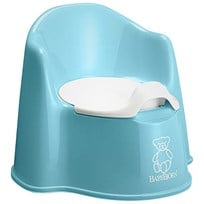 Babybjörn Potty Chair Turquoise Multi