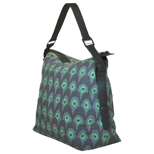 Littlephant Messenger Bag Circus Grey/Green Multi