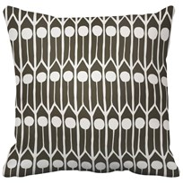 Littlephant Pillow Feathers Black/White Multi