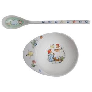 Image of Elsa Beskow Matningsset Putte Bowl & Spoon Putte (3125333167)