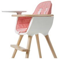 Micuna OVO Highchair Textile Pink Multi