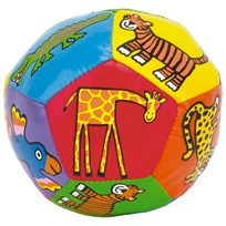 Jellycat Jungle Tails Boing Ball Multi