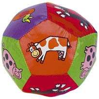 Jellycat Farm Tails Boing Ball пестрый