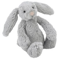 Jellycat Bashful Bunny Gosedjur Medium Silver Multi