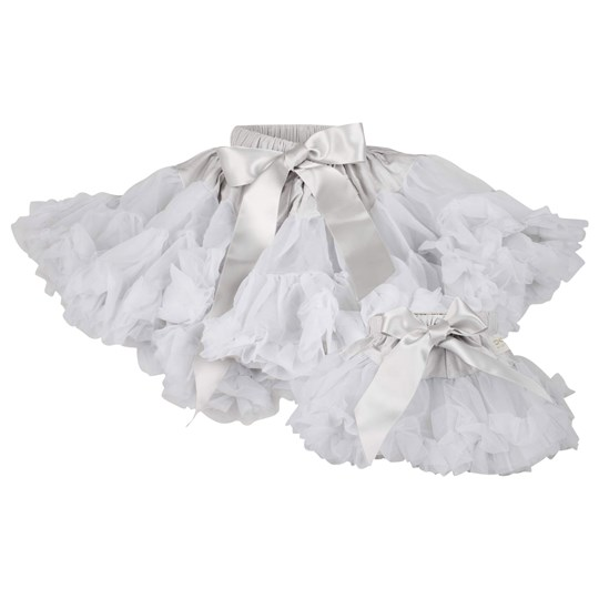DOLLY by Le Petit Tom Grace Pettiskirt Silver Grey Silver