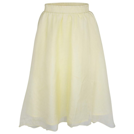 Pale Cloud Opal Skirt Yellow Yellow
