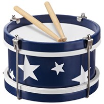 Kids Concept Toy Drum Blue Multi
