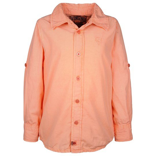 Vingino Leon LS Shirt Neon Orange Orange