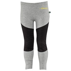 The BRAND MC Tights Grey Melange Suede