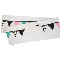 Elodie Details Bumper Pad Graphic Flags Multi