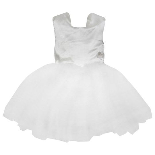DOLLY by Le Petit Tom Dolly Ballet Dress White