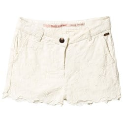 Scotch R'belle Allover Embroidered Shorts Offwhite