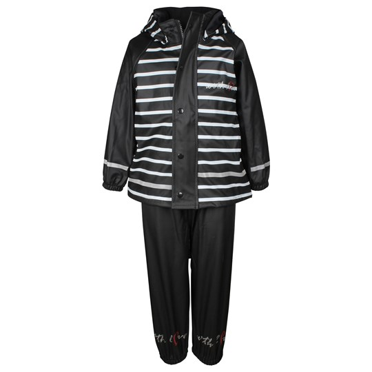 Lundmyr Of Sweden Rainwear Black/White Black