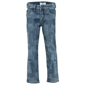 Image of Versace Trousers Blue 3A (100) (2743812121)