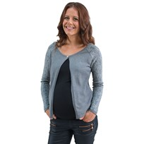 Mom2moM Cardigan Deco Grey Grey