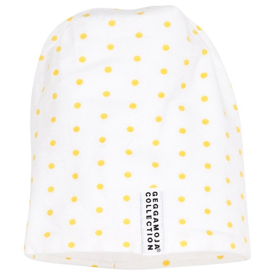 Geggamoja Dot Cap Yellow dots Yellow