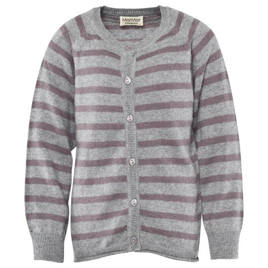 MarMar Copenhagen Totte Light Cotton-wool Shark Stripe Musta
