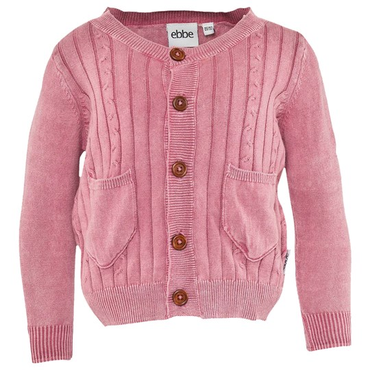 ebbe Kids Kat Girls Cardigan Heather Lilac Lilac