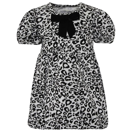The Tiny Universe The Tiny Dress Snow Leopard Black