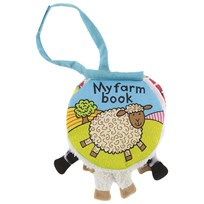 Jellycat My Farm Book Multi
