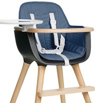 Micuna OVO Highchair Textile Blue Blue