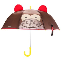 Skip Hop Zoobrella Little Kid Umbrella Monkey