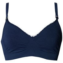 Boob Fast Food Bra Navy Blue