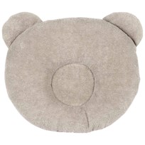 Candide P'tit Panda Pillow  Taupe Beige