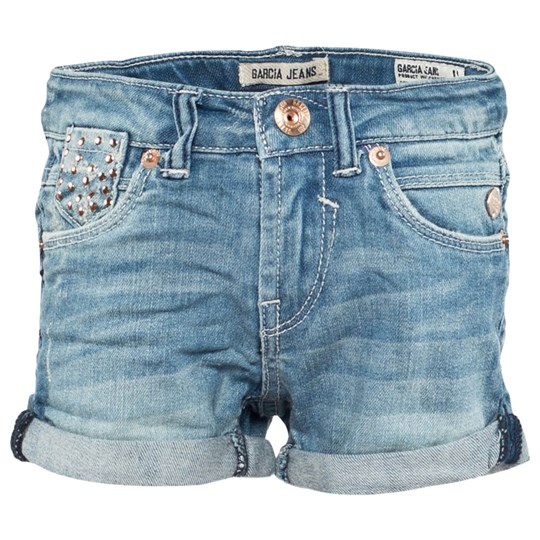 Garcia Girls Short Kids Used Blue Indigo