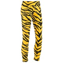 Moschino Kid-Teen Leggings Tiger Yellow