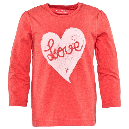 Esprit Love T-Shirt Coral Red